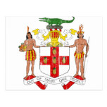 Jamaica Coat Of Arms Post Cards
