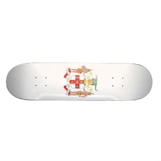 Jamaica Coat Of Arms Skate Boards