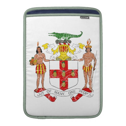 Jamaica Coat Of Arms Sleeve For MacBook Air