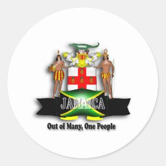 Jamaica Coat of Arms Sticker