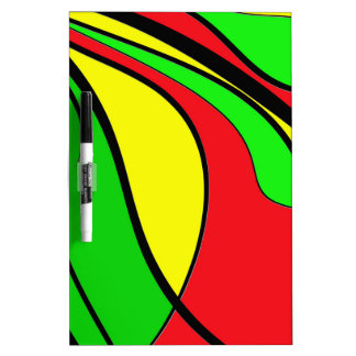 Jamaica colors Dry-Erase board