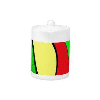 Jamaica colors teapot