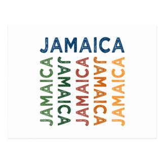 Jamaica Cute Colorful Postcard