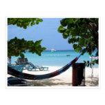 Jamaica de relajación tarjeta postal