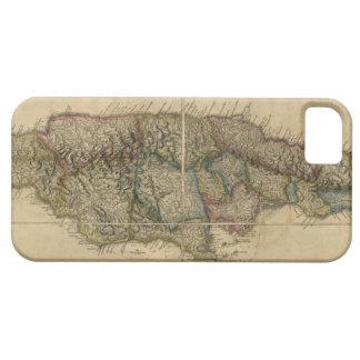 Jamaica del último mapa de las encuestas (1775) iPhone 5 fundas
