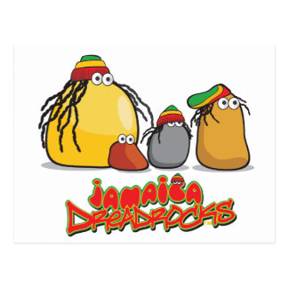 Jamaica DreadRocks Postcard