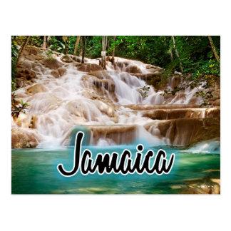 Jamaica Dunn's River Falls Postcard