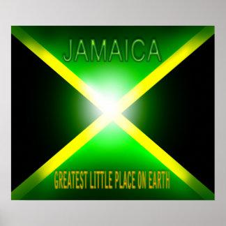 Jamaica, el pequeño lugar más grande en la banda d póster