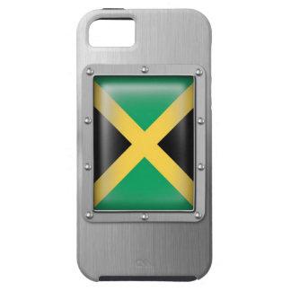 Jamaica en acero inoxidable funda para iPhone SE/5/5s