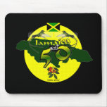 Jamaica en cincuenta alfombrilla de ratones