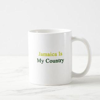 Jamaica es mi país taza de café