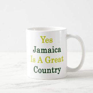 Jamaica es sí un gran país tazas de café