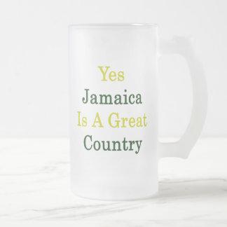 Jamaica es sí un gran país taza