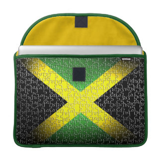 Jamaica Flag 15 Inch Sleeve For MacBook Pro