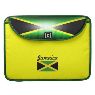 Jamaica Flag 15 Inch Sleeve For MacBooks