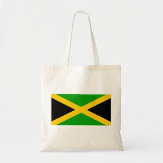 Jamaica Flag Budget Tote Bag