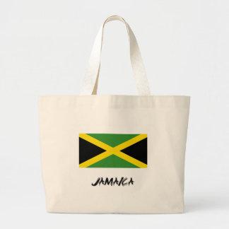 Jamaica Flag Jumbo Tote Bag