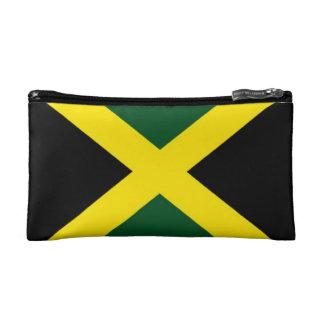 Jamaica flag bagettes bag makeup bag