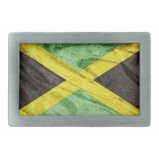 Jamaica flag belt buckle