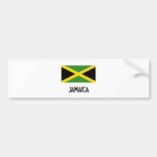 Jamaica Flag Bumper Stickers