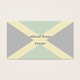 Jamaica Flag Business Card