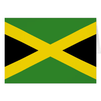 Jamaica Flag Card
