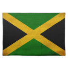 Jamaica Flag Cloth Placemat
