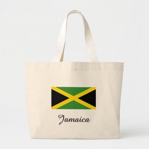 Jamaica Flag Design Canvas Bag