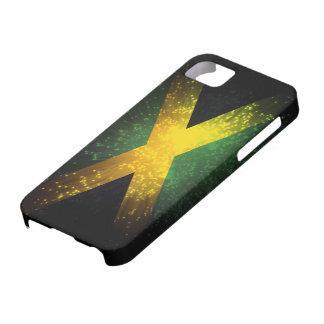 Jamaica Flag Firework iPhone 5 Cases