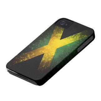 Jamaica Flag Firework Case-Mate iPhone 4 Cases