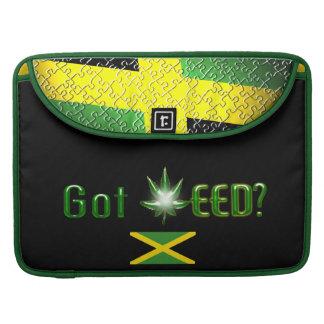 Jamaica Flag Got weed Sleeve For MacBooks