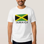 Jamaica Flag Green Yellow and Black Tees