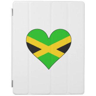 Jamaica Flag Heart iPad Cover