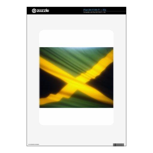 Jamaica Flag iPad Decals