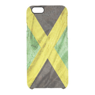 Jamaica flag uncommon clearly™ deflector iPhone 6 case