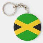 Jamaica Flag Key Chains