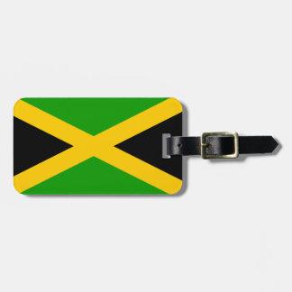 Jamaica Flag Luggage Tag