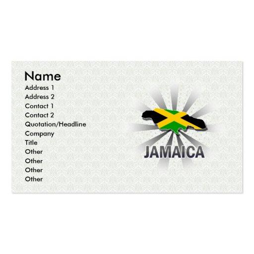 Jamaica Flag Business Card Templates Bizcardstudio