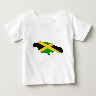 Jamaica Flag Map full size Tshirt