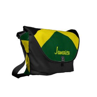 jamaica flag messenger bags