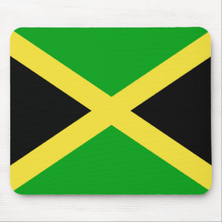 Jamaica Flag Mouse Pad