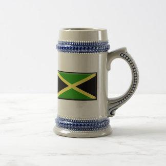 Jamaica Flag 18 Oz Beer Stein