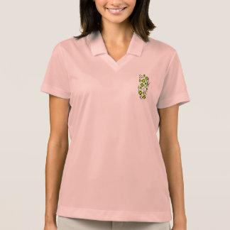 Jamaica Flag Music Notes Polo Shirt