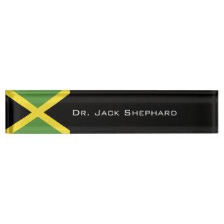 Jamaica Flag Name Plate