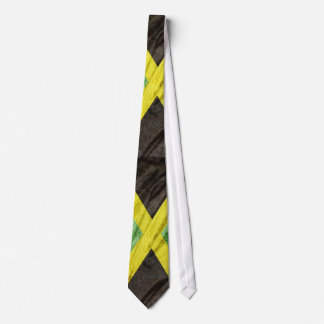 Jamaica flag neck tie