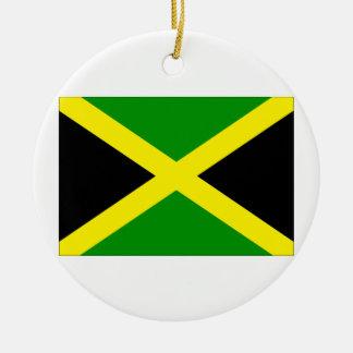 Jamaica Flag Ornaments