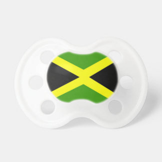 Jamaica Flag Baby Pacifier