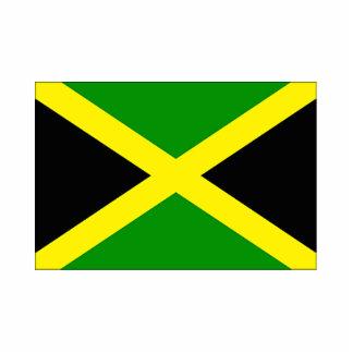 Jamaica Flag Photo cut-out