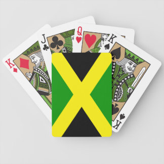 Jamaica Flag Playing Cards