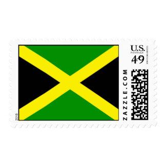 Jamaica Flag Postage Stamps